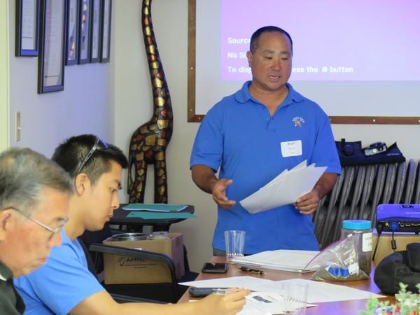 Instructor Brent Ishikawa