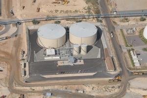 Aerial Photo of the Kalaeloa Asphalt Terminal