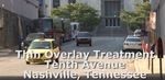Thin Overlay Demonstration in Nashville - Tennessee
